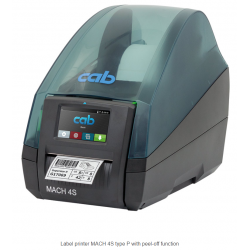 MACH 4S peel-off printer