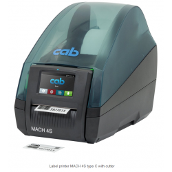 MACH 4S printer with cutter